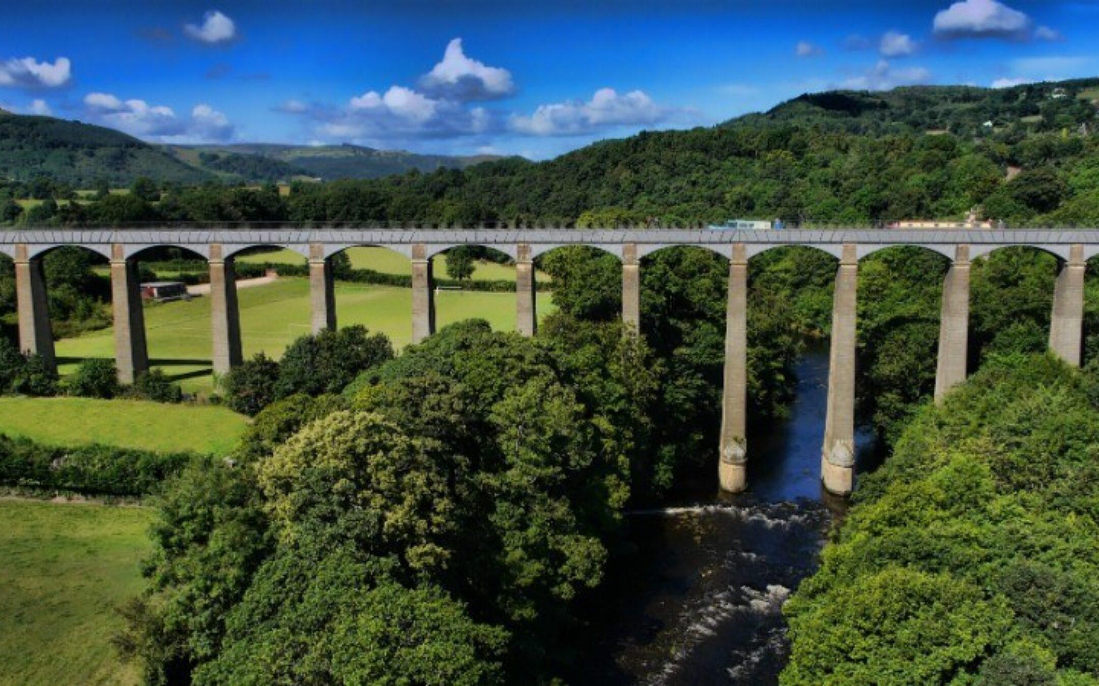 Llangollen Canal Aqueduct